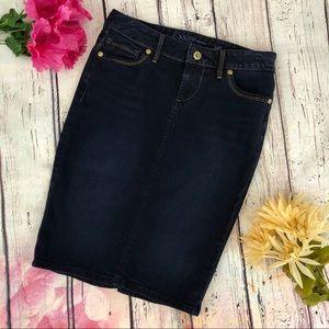 GUESS Denim Jean Pencil Skirt